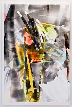 Kristin Baker // Over Ones Shoulder, 2011 [Acrylic on PVC]
