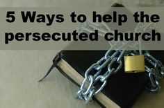 You can go to Voice of the Martyrs and http://www.prisoneralert.com/ to write letters to those in prison for Christ!