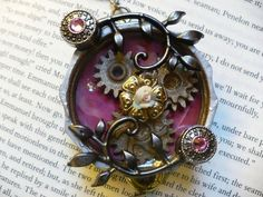 User blog:Christina l/Round-up of Steampunk Crafts - Steampunk Crafts Wiki uses inspiration from cyberpunk to explain what is steampunk as well as share steampunk crafts including steampunk keyboard and steampunk furniture by modifying and repurposing.