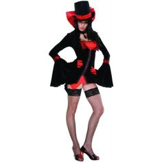 Vampire Vixen Costume - Medium/Large - Dress Size 6-9 - Sexy Halloween Costumes
