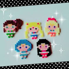 Sailor Moon perler beads by 1noamomo