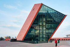 Museum of World War II, Poland, by Gdansk by Studio Architektoniczne Kwadrat