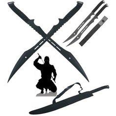 ACE Double Ninja Swords with Sheath