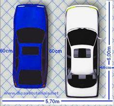 Dicas e Tutoriais: Garagem de carro - Tamanho ideal