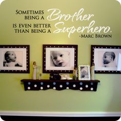 Better Than Being A Superhero (wall decal from WallWritten.com). ADORABLE! #PPBmothersday