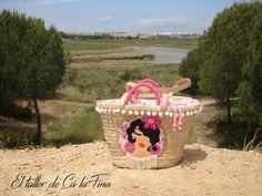 Cá la Fina.  Capazos flamencos para abuelas y nietas