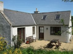 in Aberdeenshire, GB. Semeil cottage is within the beautiful scenic setting of the Cairngorm National Park.  The cottage enjoys easy access to castles, walking, cycling, fishing, skiing and breathtaking scenery.  There is no television or wifi, but we like it like this...