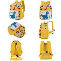 2018 New Kids Backpacks Cute Cartoon Dinosaur Printed School Bags for  Kindergarten Girls Boys Children Anti-list Bags Toddle Bag 5d814c228da20