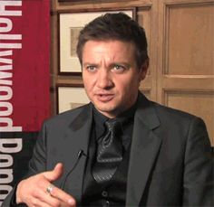 gif - Renner doing brain math....