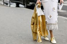 FRONT ROW: Paris Fashion Week Haute Couture 2015 Street Style