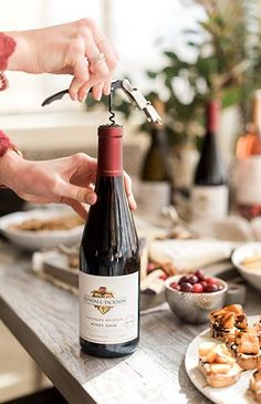 A Wine Tasting Friendsgiving with Pino Noir