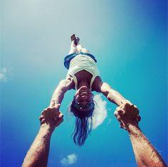 Awesome partner #yoga