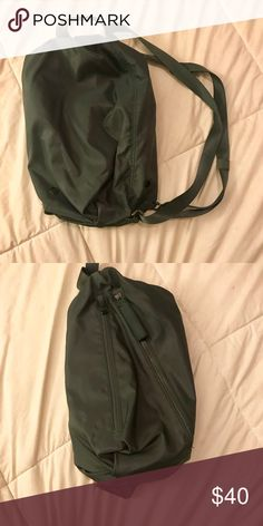 Crossbody bag Lululemon Athletica Fast Track cross body bag/backpack  • Color- Army GREEN • cross body or backpack  • BRAND NEW  • 100% Authentic Lululemon Athletica product lululemon athletica Bags