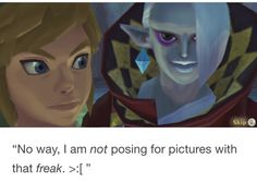I can't stand him to be honest. When I played Skward Sword, I swear he was the most annoying boss ever.