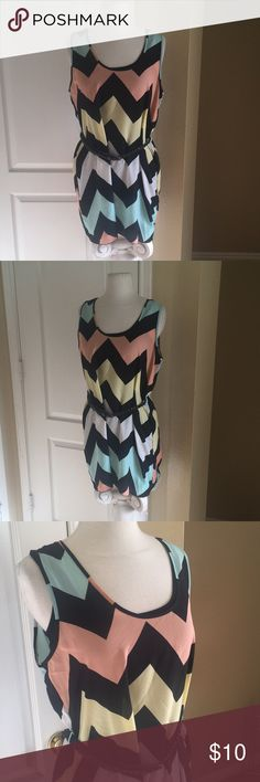 """rue 21 top rue 21 pullover top with braided belt. Size Large. 100% Polyester. In good used condition. Length: 32."""" Rue 21 Tops"""