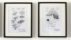 無料で「特許図面ポスター」のデータをダウンロードできるサイト「Free Iconic Patent Art」 - GIGAZINE