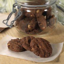 Peanut Brownie Biscuit Bites