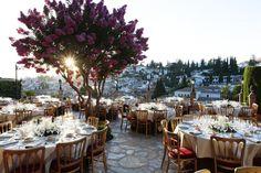 Carmen de los Chapiteles - AWOL Granada - A Wedding of a Lifetime - Granada, Spain Spanish Wedding, Granada Spain, Wedding Decorations, Table Decorations, Outdoor Furniture Sets, Outdoor Decor, Wedding Venues, Wedding Ideas, Beautiful Gardens