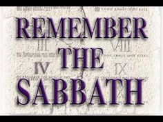 The Bible Unlocked: How To Keep The Sabbath