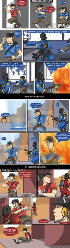 TF2: I AM CREDIT TO WRONG TEAM by ryounkura Oh my god I cannot stress how true this is