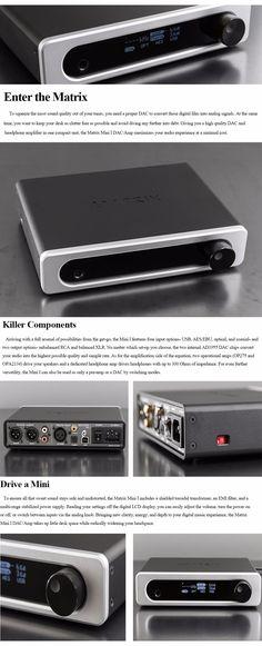 Matrix Mini-i 24bit/384kHz USB DAC Headphone Amplifier