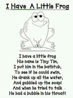 rx online I have a little frog poem/printable (other great printables too!) I have a little frog poem/printable (other great printables too! Preschool Poems, Preschool Music, Preschool Activities, Frogs Preschool, Circle Time Songs, Songs For Toddlers, School Songs, Finger Plays, Worksheets