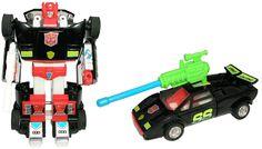 Cliffbee.com: Transformer Toy Reviews: G2 Sideswipe