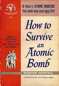 Always in the back of our minds growing up in the 1950's and 1960's.  We always had air raid drills in school....really disturbing!