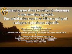 Séance d'autohypnose pour transformer une émotion douloureuse en émotion agréable - YouTube
