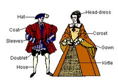 Ah, the chore of dressing, if you were a well to do woman in Early Tudor times! First, don your stockings, ear rings and shoes. Then, the chemise, thenpetticoat, then farthingale,  corset  bumroll, then partlet, followed by a  kirtle, and finally thegown!
