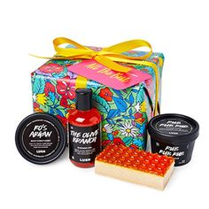 All the Best | Gifts | Lush Cosmetics Lush Cosmetics, Handmade Cosmetics, All Gifts, Best Gifts, Holiday Party Games, Teenage Girl Gifts Christmas, Lush Fresh, Coming Up Roses, Christmas Activities