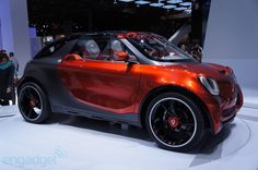 Smart forstar concept EV - Engadget Galleries