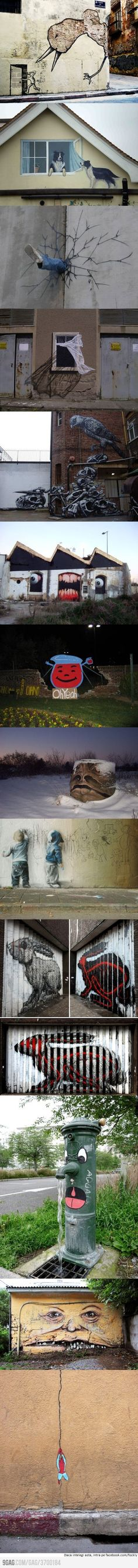 Incredible street art
