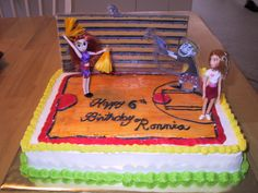 My youngest daughter's Kim Possible cake.