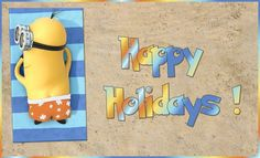 Happy Holidays  -  Tag made by Duena