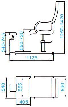 Педикюрная группа SD-2302 со стулом мастера | Купить в компании «Евромедсервис»