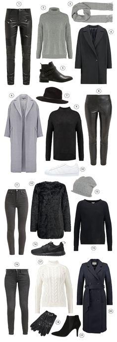4 x FALL UNIFORM : P.S. I love fashion by Linda Juhola