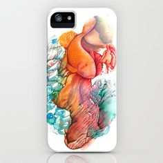 The Gold Fish III iPhone & iPod Case by FlowerFairyArt - $35.00
