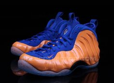 "NIKE AIR FOAMPOSITE ONE ""NEW YORK KNICKS"" #sneaker"