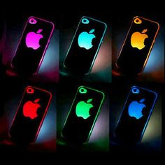 Wow your friends with this flashing color change case cover for the iPhone. Compatible with Apple iPhone Cool Iphone Cases, Cool Cases, Apple Iphone 5, Coque Iphone 5s, Iphone Accessories, Apple Products, Ipad Case, Flash Light, Iphone 4 Cases