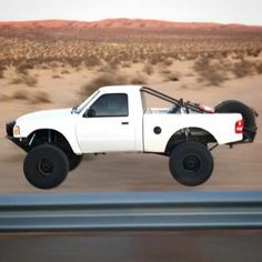 One day I'll build me one of these bad boys Mini Trucks, Cool Trucks, Pickup Trucks, Ford Ranger Prerunner, Tactical Truck, Ranger Truck, Trophy Truck, Jeep Accessories, Toyota Trucks