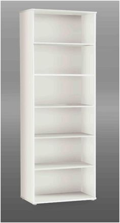 Finished in a Matt White Comprises of 1 fixed and 4 adjustable shelves Size Width 72cm Height 197 5cm Depth 34cm Delivered flat packed Delivery time