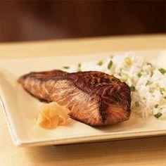 Wasabi Salmon | MyRecipes.com