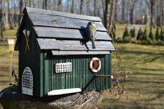 Boot house for birds - Birdhouses. Handmade By Cor van de Velde Petite Maison Daglan