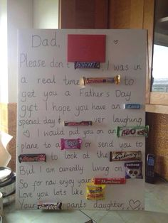 Father's Day chocolate gift