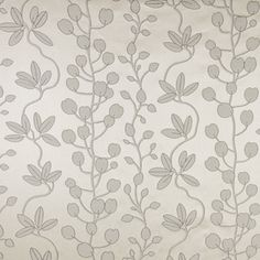 Carole Fabric Kalani Gray Mist Alabaster Allure Polyester, Rayon Woven In USA Passes Double Rubs Wyzenbeek Horizontal: 28 and Vertical: - My Fabric Connection - Pattern Names, To Color, Drapery Fabric, Mists, Fabric Design, Connection, Weaving, Tapestry, Touch