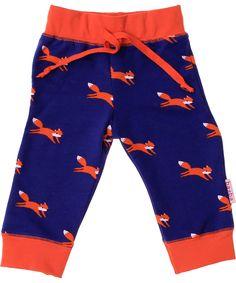 Baba Babywear schattige baby broek met vosjes. baba-babywear.nl.emilea.be