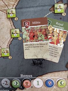 Taifa: Intrigue and War in Medieval Spain. Counters and cards. Card Games, Game Cards, Game Ui, Tabletop Games, Goblin, Card Templates, Game Design, Medieval, Spain