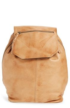 DAY & MOOD 'Fleur' Leather Backpack