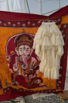 Burning Man Wedding - Brides skirt
